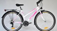 TransMontana trekking 1.0 acél trekking NŐI kerékpár több színben