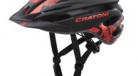 Cratoni Pacer sisak black-red matt S-M