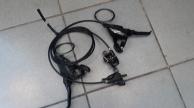 Shimano ST-EF 505 hidraulikus fékváltókar+ Shimano BR-M315 hidraulikus fékszett