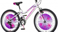 Explorer Magnito gyermek kerékpár 24-es fehér