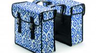 Basil csomagtartó dupla táska Mara XL , pántos