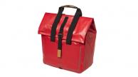 Basil Urban Dry Shopper csomagtartó táska piros