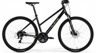 M-BIKE 15D cross trekking női kerékpár fekete arany