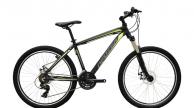 NEUZER MISTRAL 50 MTB kerékpár fekete/zöld-szürke