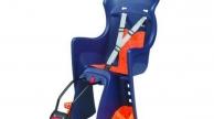 Polisport Boodie gyermekülés vázra szerelhető adapteres szürke-narancs