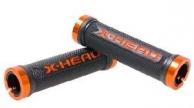 Bikefun X-Head Lock-On markolat fekete-narancs