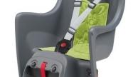 Polisport Boodie gyermekülés csomagtartóra szerelhető szürke-zöld