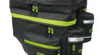 Bikefun 3 részes HIKER túratáska csomagtartóra esővédővel
