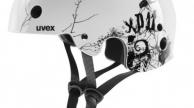 UVEX XP11 sisak BUG WHITE BLACK SHINY