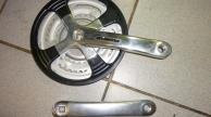 Suntour 3 tányéros láncvédős hajtómű
