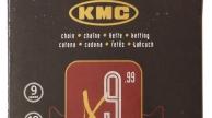 KMC X9 SILVER 9 sebességes lánc