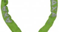 AXA Clinch láncos zár 85 cm zöld