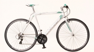 Neuzer Courier speeder Acera kerékpár fehér-türkiz