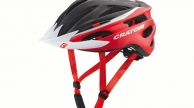 Cratoni PACER sisak BLACK-RED MATT XS